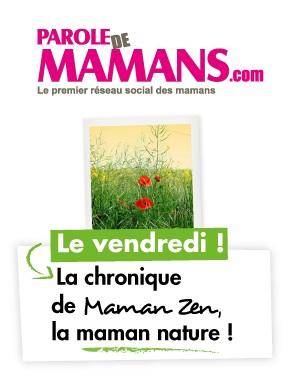 Maman Nature Parole de mamans