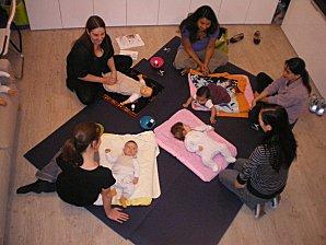 Ateliers de massage bébé