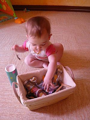 Eveil bébé Montessori